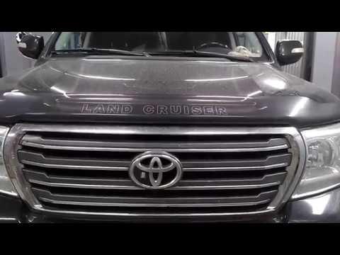 Установка проставок для увеличения клиренса Toyota Land Cruiser 200