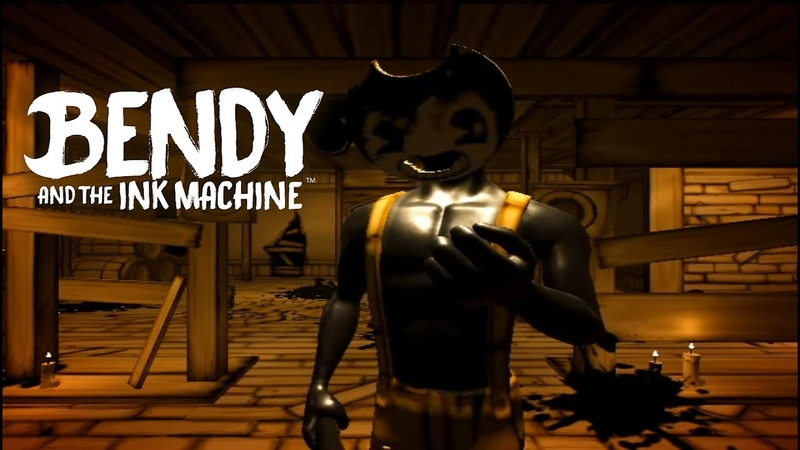 Bendy and the Ink Machine Chapter 2 ЧЕРНИЛЬНЫЙ ПСИХОПАТ 2