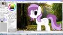 Как вставить пони в фон в Саи Видео урок