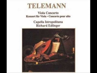 Georg Philipp Telemann (1681-1767): Concerto for Viola in G Major