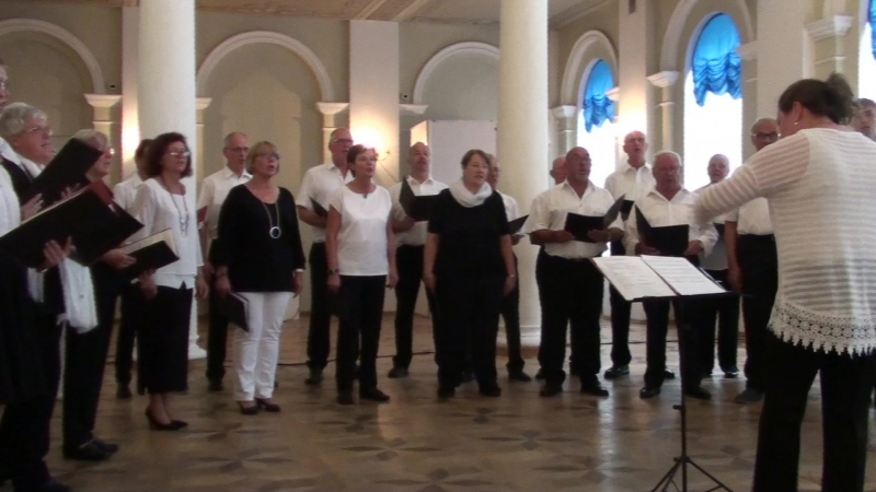 1_Немецкий хор Westfalenchor (дирижёр Татьяна Хундт)