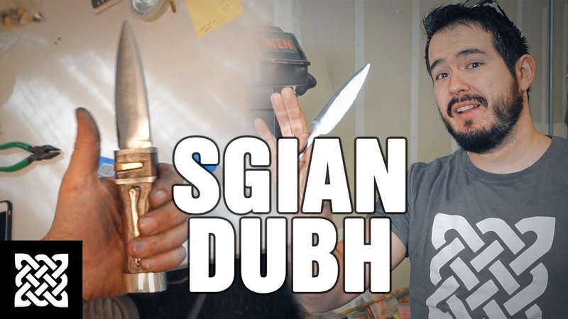 Making a Scottish Dagger SGIAN DUBH - BLACK OPS KNIFE!