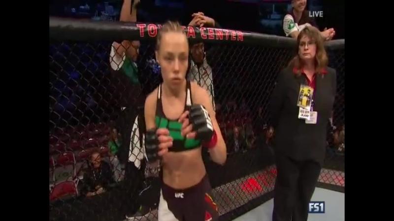 Rose Namajunas 2-2 - Angela Hill 2-1  UFC 192: Cormier vs. Gustafsson Preliminary Card | Strawweight | 115 lbs 2015.10.03