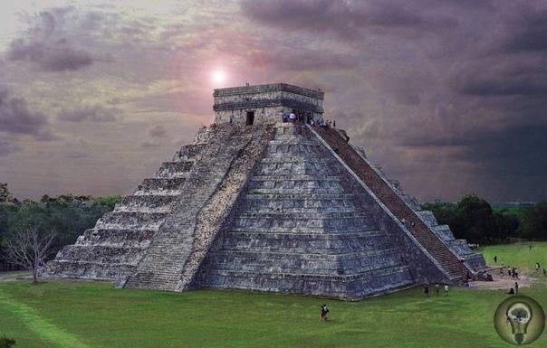 Пирамида Кукулькана в Мексике прячет в себе целый набор пирамид-матрешек