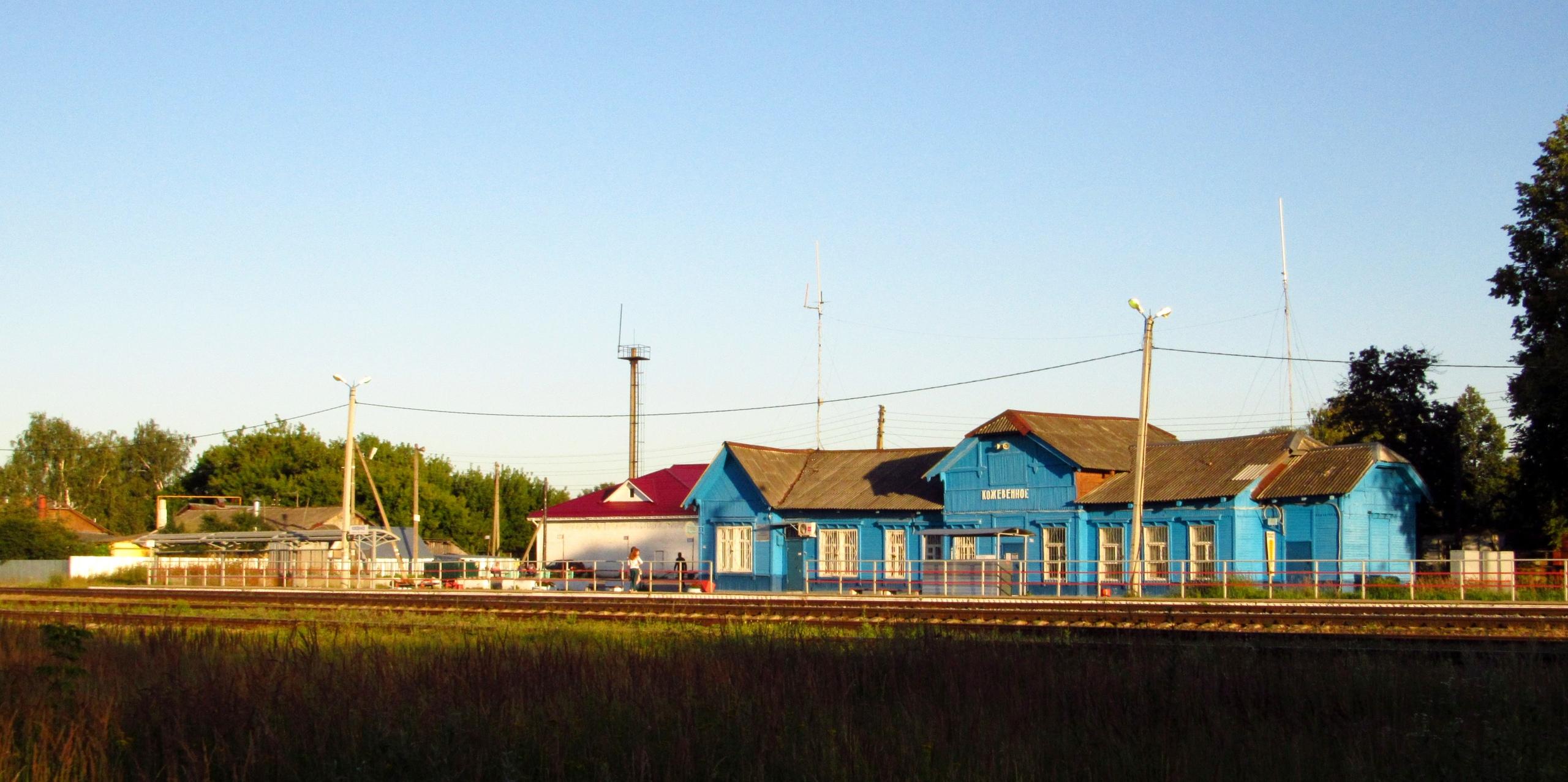 Летний вечер на станции Кожевенное