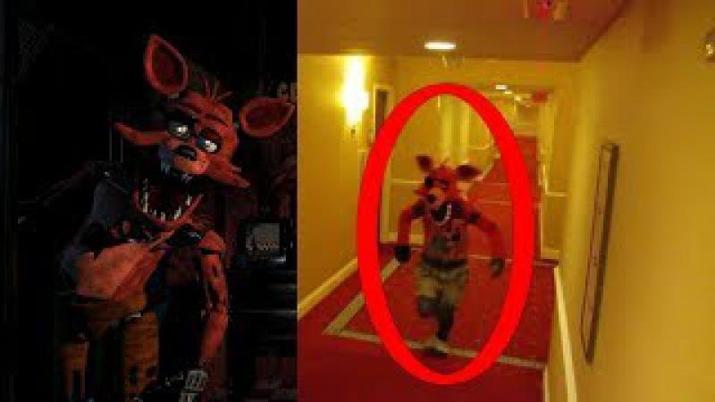 Five Nights At Freddy's In Real Life (Fnaf) FNAF