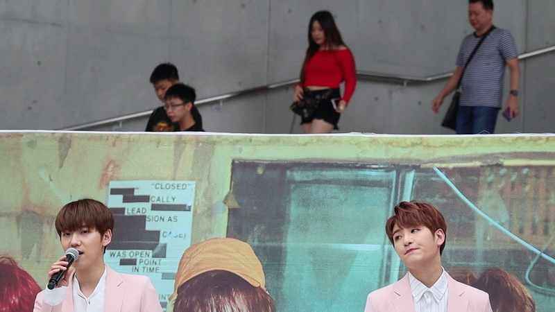 [FANCAM] 190531 백퍼센트(100%) - Stay with me (Jonghwan Hyukjin Focus) @ Tokyo - DiverCity Tokyo Plaza