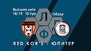 Red Kor's 3:1 Юпитер. Высшая Лига КЛДФ. 10 тур. Обзор