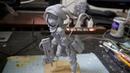 【フィギュア作成 】(GGO)レンちゃんのフィギュア作ってみた (no Painting) 【clay figure /DIY 】 s