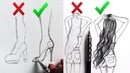 DOs DON'Ts: How to Draw Easy Step by Step / Art Drawing Tutorial