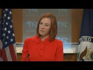 Jen Psaki grilled about white phosphorous shelling in E.Ukraine.