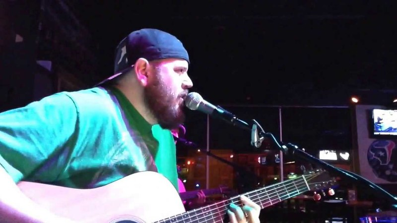 Jeff Canada jeffcanadastyle covers Limp Bizkit's Break Stuff acoustic at 2-A-Days in 2/11/2014