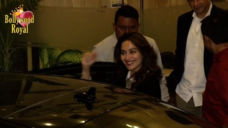Madhuri Dixit With Family With Spotted At Sushant Singh Rajput House In Bandra
