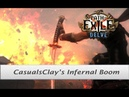 Path of Exile 3 4 Infernal Blow Chieftain w Oni Goroshi build guide Shaper kill in intro