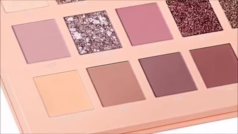 Huda Beauty - Preview of New Nude Palette Swatches _ MAKEUP ADDICTED
