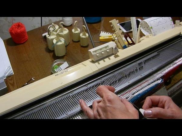 Деккер 34 иглы Использование вместо бросовой нити