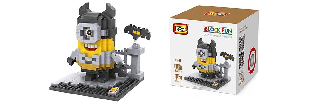 "Конструктор LOZ Diamond Block iBlock Fun ""Миньон Бэтмен"" 9541"