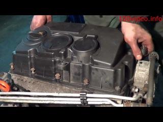 vw caddy 1.9 снятие клапанной крышки