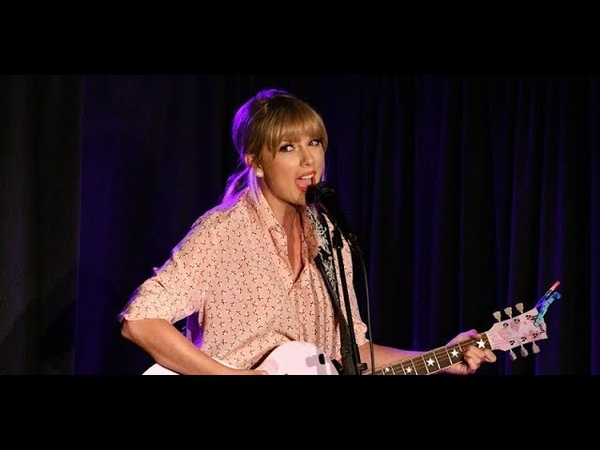 Taylor Swift gives surprise pride performance at stonewall Inn