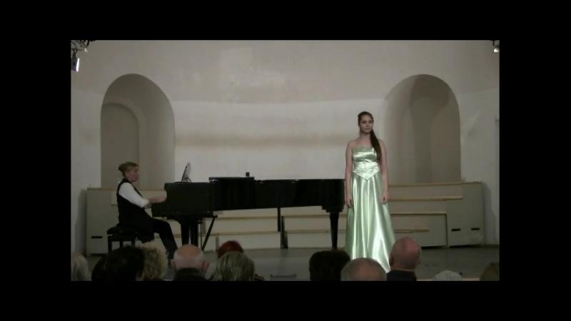 Софья Шех А. Даргомыжский Песня Ольги из оперы Русалка