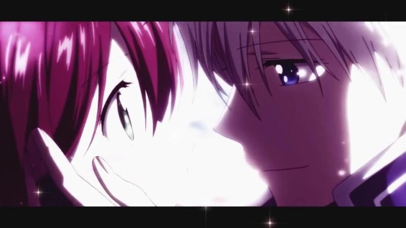 Романтический аниме клип _ Зен и Шираюки - Безумная любовь