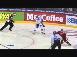 Хоккей Финляндия - Россия - 2:1 Евротур Шведские игры