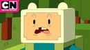 Adventure Time | Finn vs Enderman Minecraft Episode | Cartoon Network