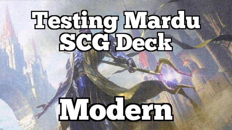 Testing Mardu Scg Deck | Modern [MTGO]