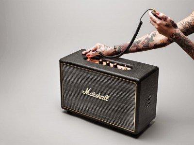 Marshall Acton - акустическая система в стиле гитарного усилителя