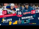 НХЛ НА РУССКОМ. КС-18/19. Р3. Сент-Луис - Сан-Хосе (матч 3)