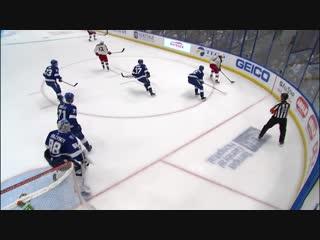 Vasilevskiy stuns panarin with beautiful save