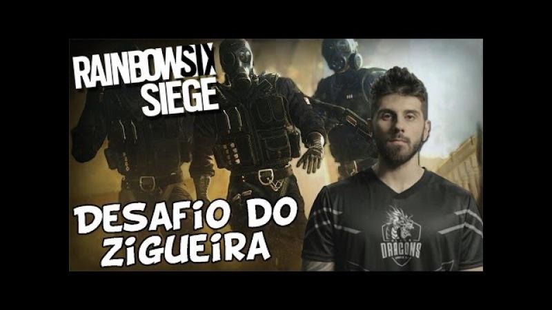 RAINBOW SIX - DESAFIO DO ZIGUEIRA! SERÁ QUE CONSEGUI?
