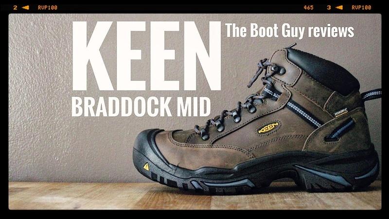 KEEN BRADDOCK MID AL WP STEEL TOE 1012771 The Boot Guy Reviews