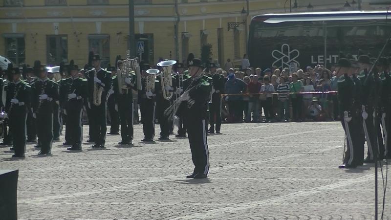 Mini Tattoo Helsinki военный музыкальный фестиваль представит три международных оркестра на Сенатской площади 2