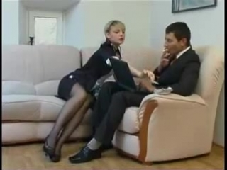 Секс в офисе