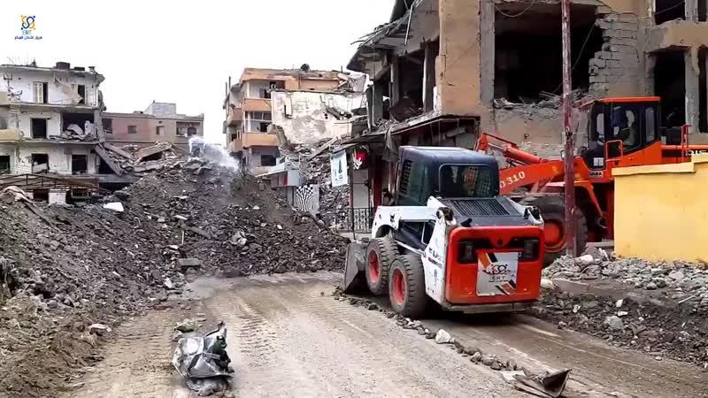 Очистка района Al-Thakaneh в Ракке
