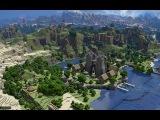 1.Строительство в майнкрафте (замок) 1 часть