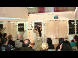 Roshana Nofret Performing at Zamani Culture House