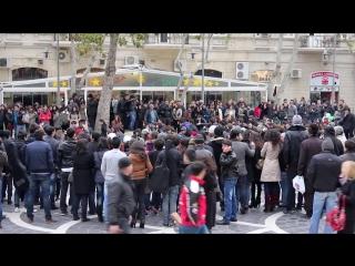 MADAGASCAR Flashmob in Baku _ FLASHMOB Azerbaijan _ Танец на улицах Баку