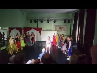 Заключительный танец mgkisovremeniki  18.05.18 джаз Педагог Войнов А.В.