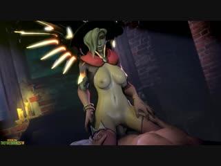 vk.com/watchgirls Rule34 Overwatch Mercy 3D porn sound