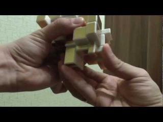 Зеркальный сиамский куб (Siamese Mirror) куб, сборка ч.3