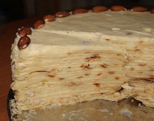пошаговый рецепт торта наполеона с фото
