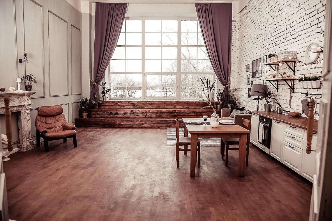 Фотостудия с настоящей кухней