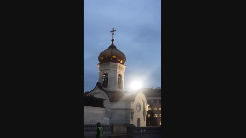 Храм Христа Спасителя к мощам Спиридона 10.10.18