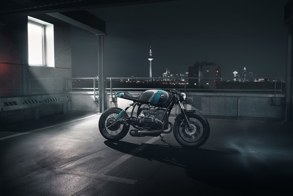 Elemental Custom Cycles: кафе рейсер BMW R80