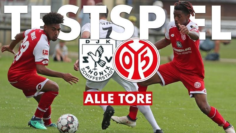 Testspiel Highlights   DJK-SV Phönix Schifferstadt - 1. FSV Mainz 05   05er.tv
