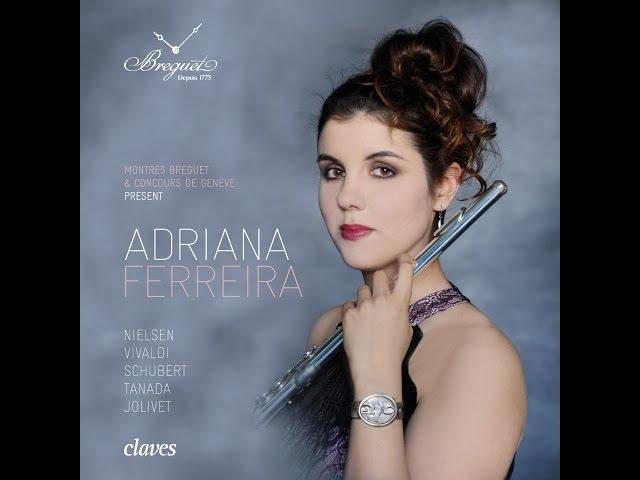 Coup de coeur Breguet, Concours de Genève 2014 - Adriana Ferreira, Flute / André Jolivet