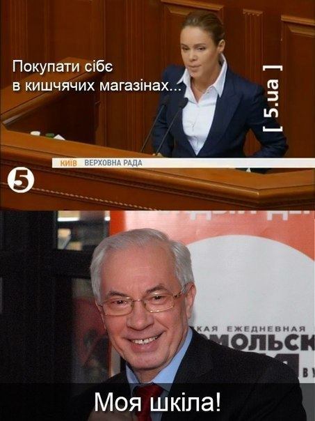 Азаров + Королевська = папіредніко наступніцька пара