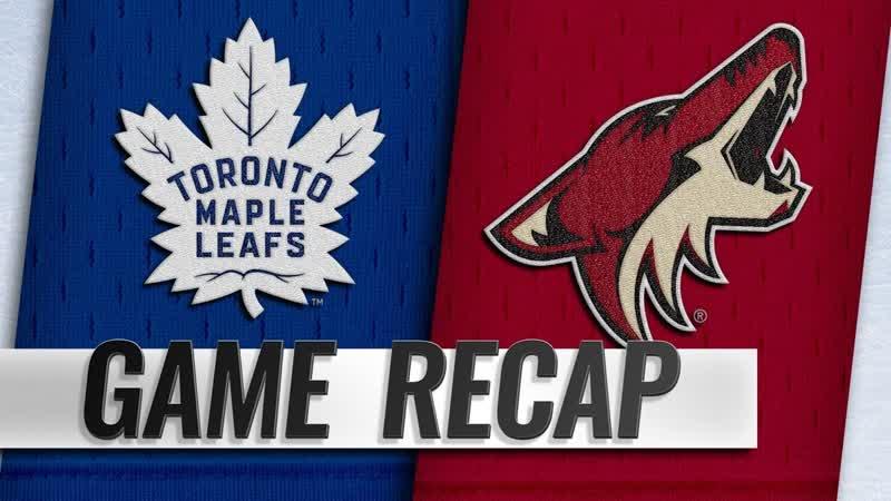НХЛ - регулярный чемпионат. «Аризона Койотс» - «Торонто Мэйпл Лифс» - 20 (00, 20, 00)